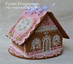 Пряничное волшебство Елены Бондаренко: Пряничный домик.