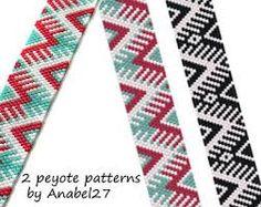 「peyote pattern by Anabel27shop」の画像検索結果