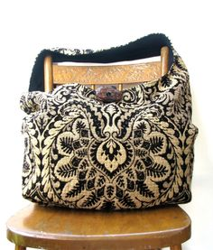 HIPPIE BAG Crossbody Bag Diaper Bag Vegan Bag by thehobotrain, $46.00