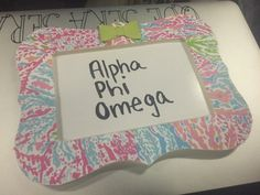 / Alpha Phi Omega, Crafty, Feelings, Handmade Gifts, Frame, Kid Craft Gifts, Picture Frame, Craft Gifts, Diy Gifts