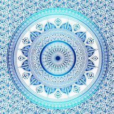 100 % Baumwolle Mandala werfen  1 X Queensize Blatt (210 x 220 cm)  Wir verwenden nur die höchste Qualität, ethisch beschafft Materialien bei der