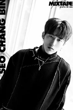 "Seo Chang Bin✨ Stray Kids Teaser Photo for Pre-debut album ""Mixtape"""