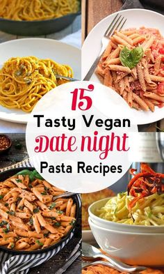 Vegan Pasta Recipes for Date Night   These pasta dishes are deliciously dairy and meat-free but still dreamy for those special occasions where only pasta will do. vegan valentine's day, dairy-free, vegan recipe, vegetarian #veganvalentinesday #veganpasta #veganpastarecipes via @VNutritionist
