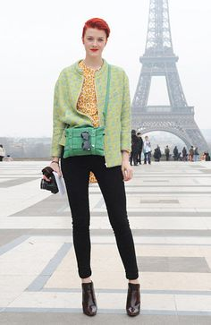 Parisian Style-mix macaroon colors stand out personality