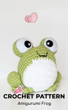 PATTERN crochet FROG pdf tutorial by LoopyPattern how crochet frog amigurumi toy tutorial crochet toad pattern diy frog pdf amigurumi toad green frog pdf Crochet Patterns Amigurumi, Crochet Blanket Patterns, Crochet Dolls, Crochet Yarn, Spiral Crochet, Crochet Frog, Cute Crochet, Tutorial Crochet, Amigurumi Tutorial