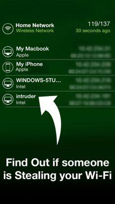 누가 내 무선 인터넷을 사용? (WUWM)는 침입자로부터 네트워크를 보호 Monkey Taps 와이파이
