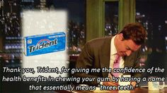 "When he made you consider ""Trident"". 