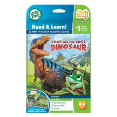 LeapFrog LeapReader Book: Leap and the Lost Dinosaur (works with Tag) | Multi City Toys List Price: $13.99 Discount: $4.42 Sale Price: $9.57