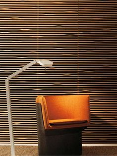 Cork And Wood As Acoustic Panels And Also A Wall Feature Wall Decor Design,  Feature