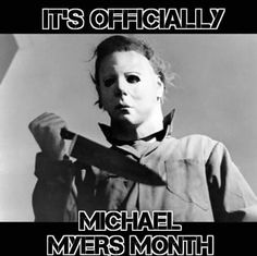 Halloween, october, and michael myers image Funny Halloween Jokes, Best Halloween Movies, Halloween Horror, Happy Halloween, Halloween Quotes, Halloween Countdown, Halloween Images, Halloween Art, Halloween Stuff