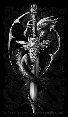 Dragon Cross Tattoo Tattoos of Hannah Chinese Tattoo Designs, Dragon Tattoo Designs, Celtic Dragon Tattoos, Viking Tattoos, Dragon Tattoo With Cross, Body Art Tattoos, Tattoo Drawings, Sleeve Tattoos, Tattoo Pics