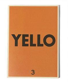 YELLO / YELLO Magazine ISSUE 3 BEAMS T[ビームスT]  BEAMS Online Shop [ ビームスオンラインショップ ]
