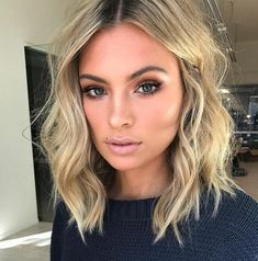 Cute Hairstyles Shoulder Length Wavy Hair