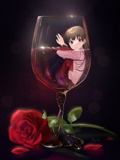 Maker Game, Rpg Maker, Ib Game, Death Art, Great Artists, Wine Glass, Alcoholic Drinks, The Incredibles, Fan Art