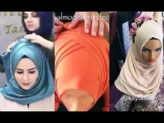 Special Day Wrap Tie Down Models Turban Tutorial, Hijab Style Tutorial, Abaya Fashion, Muslim Fashion, How To Wear Hijab, Turban Hijab, Bridal Hijab, Hijabi Girl, Muslim Hijab