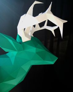 Faceted Deer Head | Jans Blog
