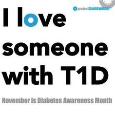 Loving someone with T1D
