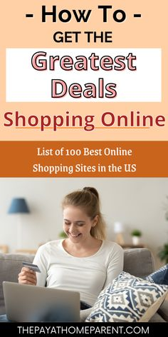 Save money shopping online with these best sites to find the cheapest deals online. Whether you're shopping for yourself or for gifts, these online shopping sites are full of great deals for clothes, home decor, and more for women and fashion, etc. These online shopping sites will help you to get more for your money in the USA. Best Online Shopping Sites, Best Sites, Online Deals, Life On A Budget, How To Get, How To Plan, Financial Planning, Finance Tips, Personal Finance