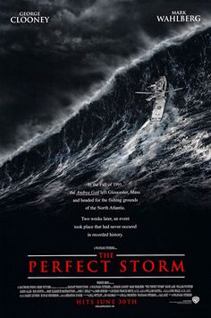 The Perfect Storm : 2000  - George Clooney.. Disaster of swordfishing boat based on the true story written as non-fiction book. Another movie scared me most in 2000 as I am the sailor... I can easily imagine how it would be in that kind of storm in the ocean...