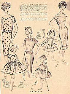 Boulevard de L'antique - Retro Scraps: 1956 Fashion Trends