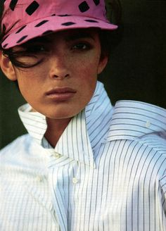 Hans Feurer for American Vogue, April 1985.