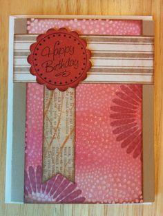 Happy Birthday Mum Card by Cindysnoopy on Etsy, $3.50
