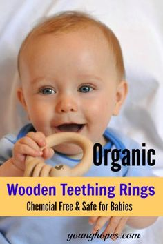 9 Best Organic Wooden Teething Rings for Babies  #organic #teether #babies