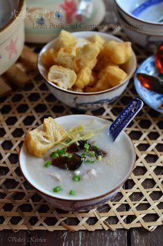 Pork and Century Egg Congee | Taiwanese Food #recipe