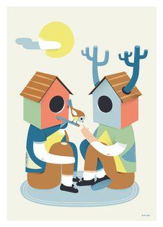 ilustración de Roberto Blefari