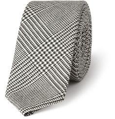 Thom BrowneHoundstooth Check Wool Tie