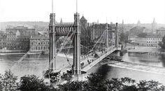 VIDEO: Praha před sto lety a dnes. Tower Bridge, Brooklyn Bridge, Prague, Travel, Science, Historia, Viajes, Destinations, Traveling