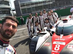 The World Endurance Championships, an auto racing event organised by Automobile Club de l'Ouest, sees 20 teams in competition in a series of endurance races. Here's the Toyota WEC team that took part in the Prologue World Endurance Championships 2017 at Autodromo Nazionale Monza in Italy. Jose Maria Lopez took this office selfie with the crew just prior to a full and exciting day on the track.