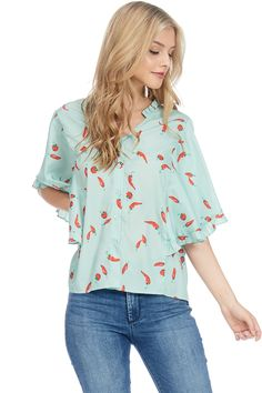138e07064151c A stylish top with full button ups
