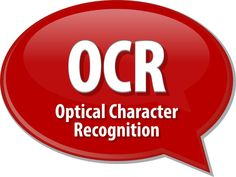 Optical Character Recognition Makes Documents Searchable
