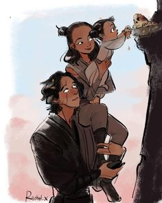 kiddohah: Reylo family