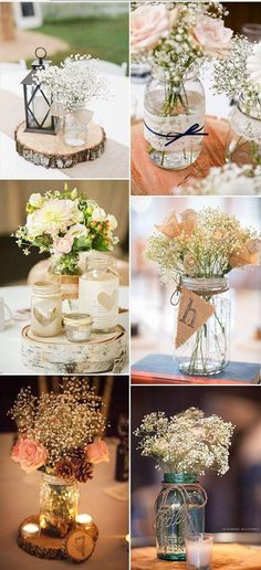 51 Ideas for vintage wedding table centerpieces decor - Decoration Home Trendy Wedding, Rustic Wedding, Dream Wedding, Wedding Vintage, Vintage Weddings, Wedding Simple, Elegant Wedding, Wedding Week, Wedding Burlap