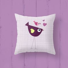 Kids throw pillow Pillow cases Cushion cover by Lespetitsbuttons, £25.00