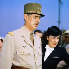 General Charles de Gaulle attending the Casablanca Conference. The conference called for the official recognition of a joint leadership of the Free French forces by both de Gaulle and Henri Giraud. A solution that was galling to both parties.