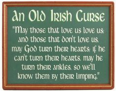 Irish Quotes, Irish Sayings, Irish Jokes