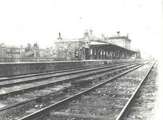 Moss Vale Railway Station in southern New South Wales (year unknown).