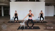 Check out what our barre exercise program is all about and join in the fun today of toning the thighs, lifting the butt and working your arms and abs. Ballet Barre Workout, Barre Workout Video, Pilates Barre, Workout Videos, Barre Workouts, Barre Moves, Mom Workout, Exercise Videos, Strength Workout