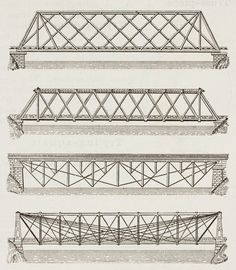 bridge truss elevation - Google Search