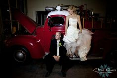 Tampa Firefighters Museum Wedding by Iza's Flowers, Inc. Photos by Carrie Wildes Photography
