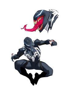 Spiderman Kunst, Batman Kunst, Batman Art, Spiderman Marvel, Gotham Batman, Batman Robin, Marvel Venom, Marvel Art, Marvel Heroes