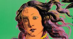 Andy Warhol, Birth of Venus (1984) - Renaissance Art Travels Through Time: Renaissance Art in Contemporary Art on Artsnapper