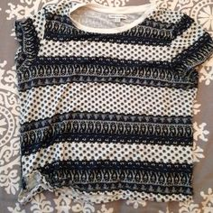 AE Short Sleeve Crop Top Very soft. Worn about three times. Is XL fits like a medium. American Eagle Outfitters Tops Crop Tops
