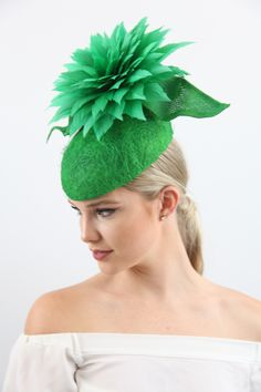163e6dbe4d1 D39 - FEATHER FLOWER HATS. Church HatsFlower HatsIce QueenFelt HatFascinatorBeautiful  ...