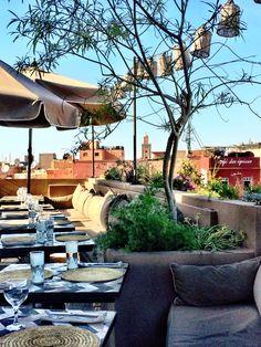 NOMAD restaurant in Marrakech