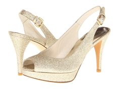 Stuart Weitzman for The Cool People Jean Sabbia Mini Glitter - 6pm.com