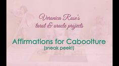 💗 Affirmations for Caboolture 💗 A sneak peek 💗A project by Veronica Rose 💗
